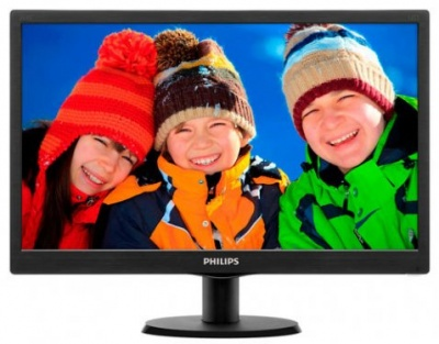 "Монитор Philips 203V5LSB26 19.5"", 1600х900, 5ms, 200cd, 600:1"